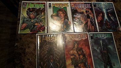 Witchblade comic lot (7 issues)