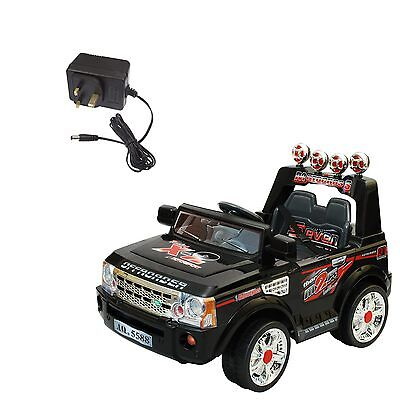 New 12V Single Pin Charger for Range Rover Electric Kids Ride on Car UK Stock