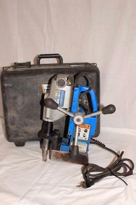 """Hougen HMD904 Corded Magnetic Drill 1-1/2"""" x 2"""" Capcity"""