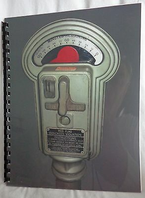 Duncan-Miller Model 50 Parking Meter Care and Maintenance Manual  28 pages