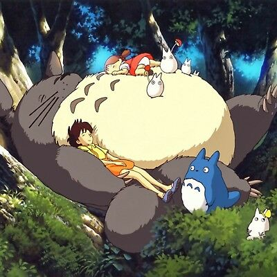 "My Neighbor Totoro poster wall art home decor photo print 24x24"" inches"