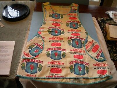 Country Store Apron  Jim Dandy Hominy Grits