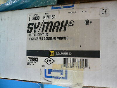 Sy/max Intelligent I/o High Speed Counter Rim 131