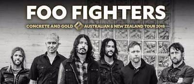 Foo Fighters tickets General Admission - Sydney 27 January 2018