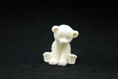 Baby Polar Bear, Silicone Mold Mould Chocolate Polymer Clay Soap Candle Wax
