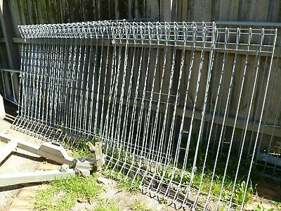 ARC 11.8 metres Steel Fencing & Gate (Reduced to $220)