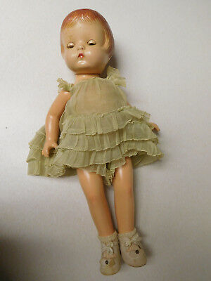 Vintage Effanbee Patsy Joan  Composition Jointed Baby Doll AS IS