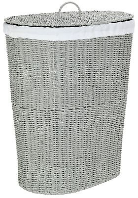 HOME 60 Litre Laundry Bin - Grey From the Official Argos Shop on ebay