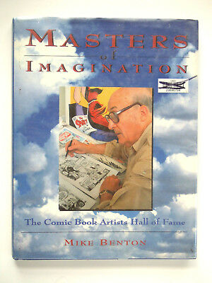 Masters of Imagination Mike Benton Comic Book Artists Hall Fame 1986 Hardcover