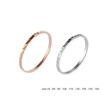 Simple 1mm Thin S925 Sterling Silver Finger Ring Ring Women Fashion Jewelry New