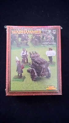 Warhammer - Empire Hellblaster Volley Gun - Metal -*sealed* 2003 - rare