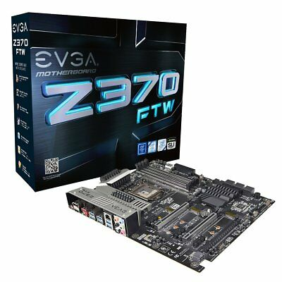 EVGA Z370 FTW, LGA 1151, Intel Z370 ATX motherboard - BRAND NEW IMPORT FROM USA