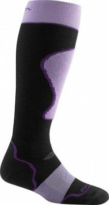 Darn Tough Women's Padded Cushion Over-the-Calf Socks - Black M 1803