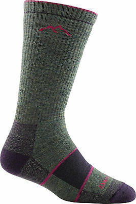 Darn Tough Women's Boot Sock Full Cushion Socks, Moss Heather, M