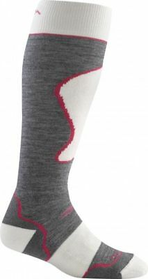 Darn Tough Women's Padded Cushion Over-the-Calf Socks - Grey M 1803