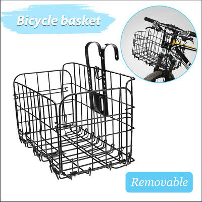 Bicycle Quick Release Bike Basket for Front Rear Extra Storage Bike Baskets AU