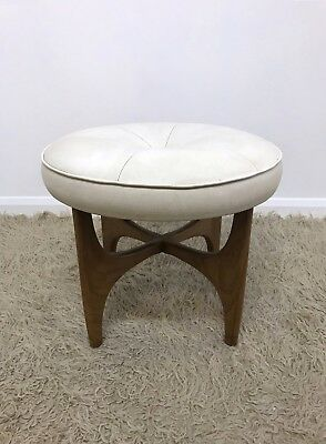 60s Iconic vintage mid century G Plan Fresco dressing table stool by V Wilkins