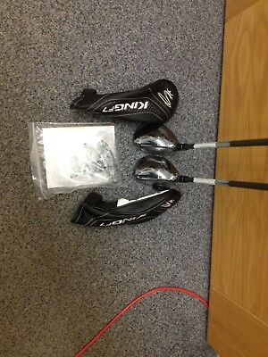 Brand New Cobra Right Handed 2and 3 King7 Hybrids
