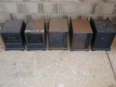 Philips battery eliminators untested and as is,quantity of 5 in one lot.