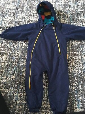 padded snowsuit age 12-18 months, water resistant fleece lined great condition
