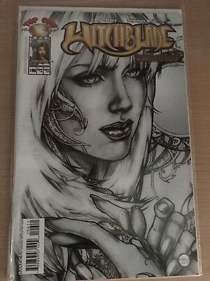 Witchblade #106 Sketch Cover 1st print