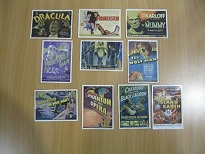 Mint sticker set Universal Monsters of the Silver Screen - Kitchen Sink 1996