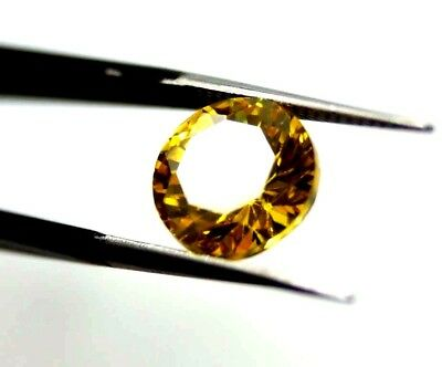 Awesome Looking 5.60 Ct Round Cut Natural Cambodia Neon Zircon Gemstone