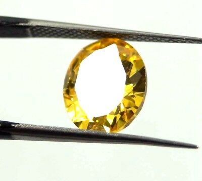Awesome Looking 6.00 Ct Oval Cut Natural Cambodia Neon Zircon Gemstone