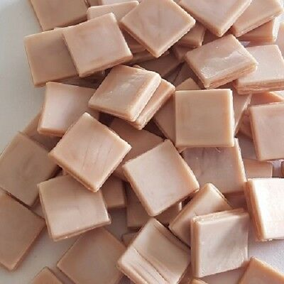 Murano Tiles 15x15mm - x 50pc - Nude