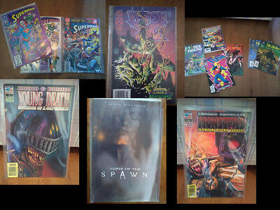 13 Comics/Graphic Novels Collection DC Marvel 2000AD (See for Details)