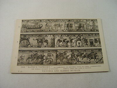 OTH281 - Victoria & Albert Museum Postcard - The Bayeux Tapestry