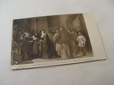 OTH581 - Tate Gallery Postcard - Cardinal Bourchier Urges the Widow......by Bell
