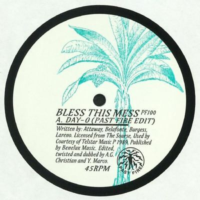 """BLESS THIS MESS - Day O - Vinyl (hand-stamped 12"""")"""