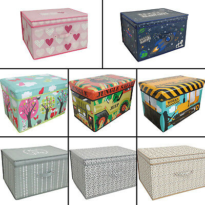 Children's Kids Practical Storage Boxes Chests Organisers Containers Multi
