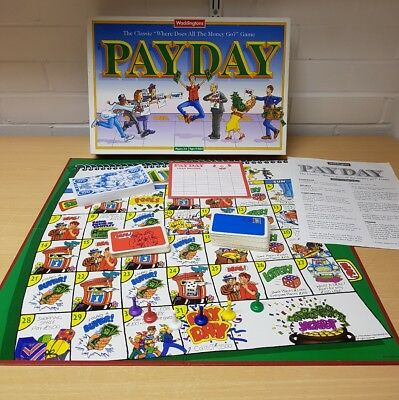 Payday Board Game by Waddingtons