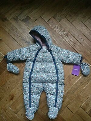 Snowsuit Pramsuit All-in-one Winter Bodysuit Liberty Mamas and Papas