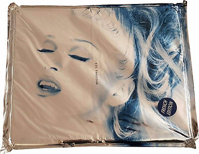 MADONNA  - SEX BOOK FRENCH EDITION STILL SEALED with CD & COMIC FRANCE