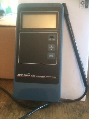 Airflow TA3 Anemometer and case