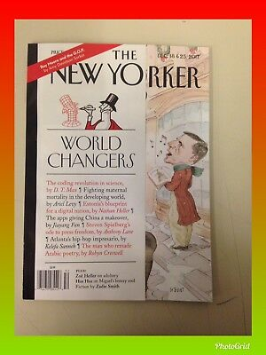 THE NEW YORKER MAGAZINE DEC 18 & 25 2017 FREE Shipping! Brand New