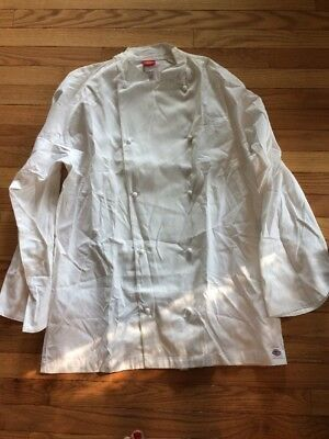 Dickies Chef Collection Chef Coat Size 42L New