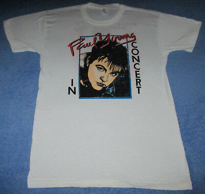 Vintage 1986 PAUL YOUNG Between two Fires XL T-shirt Dead Stock