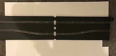 1:32 Sport Scalextric Slot Car Track Pieces Chicane Sideswipe Track Set