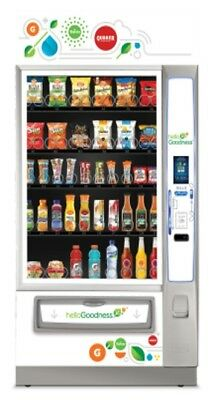 Vending Machine-Snack/Beverage Combo - Credit Card reader-High Tech!