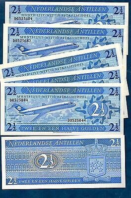 Netherlands  Antilles  1970  2 1/2 Gulden -  High Cat...