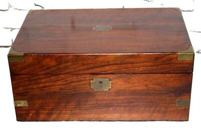 Antique Victorian Writing Slope Stationery Box - FREE Shipping [PL4148]