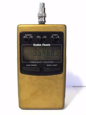 RadioShack LCD RF Frequency Counter Model 22-305