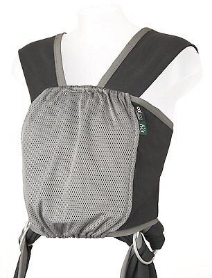 Caboo NCT Baby Carrier Grey Fabric Sling Summer Weight