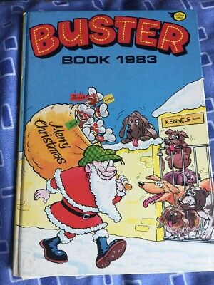 The Buster Book 1983 Collectible Rare