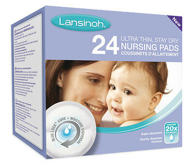 Disposable Nursing Pads 24's -Lansinoh (3 X 24 Pads)