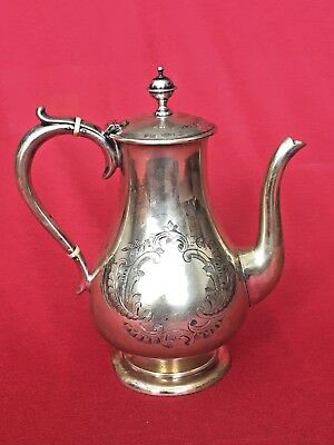 Antique Silverplate Teapot